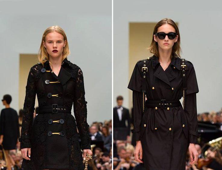 Burberry - 2015/16 Sonbahar Kış Siyah Treçkot Modelleri http://www.yesiltopuklar.com/yagmura-karsi-trenckotla-sik-bir-durus.html