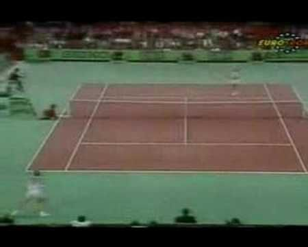 Edberg for another greatest tennis point ever :-)