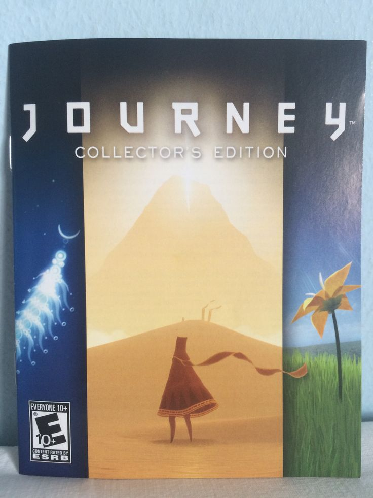 Journey Collector's Edition manual.