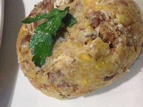 Fabulosa receta para Mofongo Dominicano. El Mofongo es un plato muy popular de la cocina dominicana. Su preparación es muy fácil y los ingredientes muy económicos. Este plato esta presente en todos los menús de los restaurantes en la República Dominicana. Hay muchas variantes, según los gustos