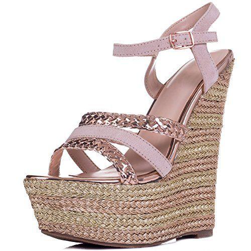 30 Best Gold Wedding Wedges High Heel Sandals Wedges Wedge Sandals Wedding Wedge Sandals