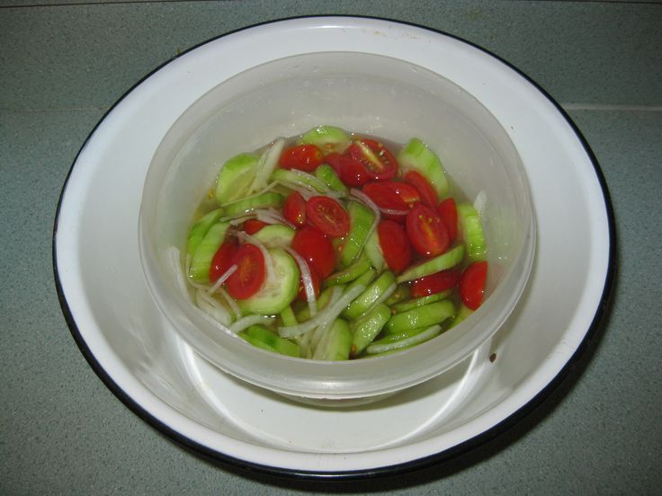 rice vinegar cucumber salad