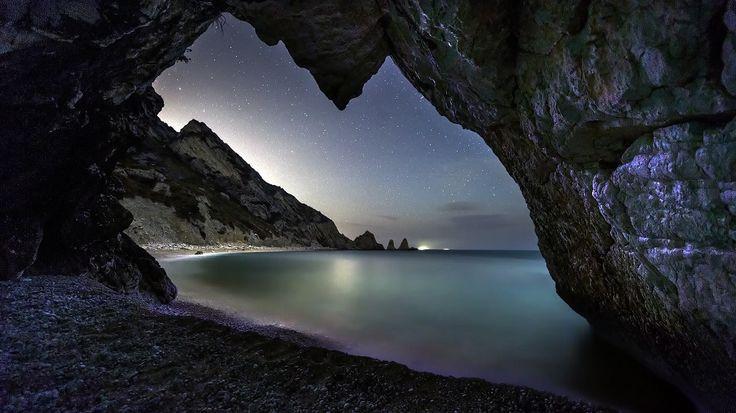Italian starry skies portrayed beautifully: visit Conero - Maurizio Pignotti Photography #timelapse