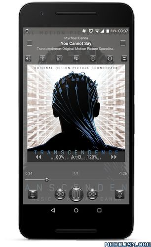 JetAudio HD Music Player Plus v8.1.1 [Mod Silver Design]Requirements: 2.3+Overview: jetAudio Plus is a mp3 music player with 10/20 bands graphic equalizer and various sound effects. — Sound Effects plugins —* Bongiovi DPS ( ...
