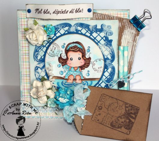 You Scrap With Me: Bubble Tilda...nel blu dipinto di blu!