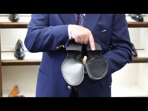 Joe Zapatka from #TheShoeMart gives us a closer look at the fitting properties and profile of the #Alden #Modified Last.   www.TheShoeMart.com #AldenShoes