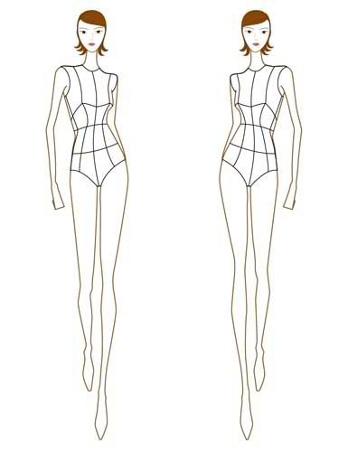 31 best Body Templates images on Pinterest Draw, Body template - fashion designer templates