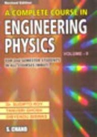 A Complete Course in Engineering Physics [Dec 01, 2008] Roy, Sudipto and Tanu]