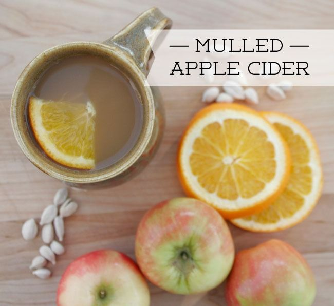 Mulled Apple Cider Recipe — Dishmaps