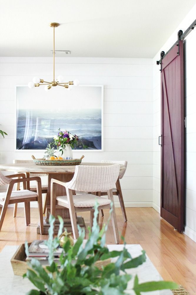 This Dining Room Wall Decor Gives a