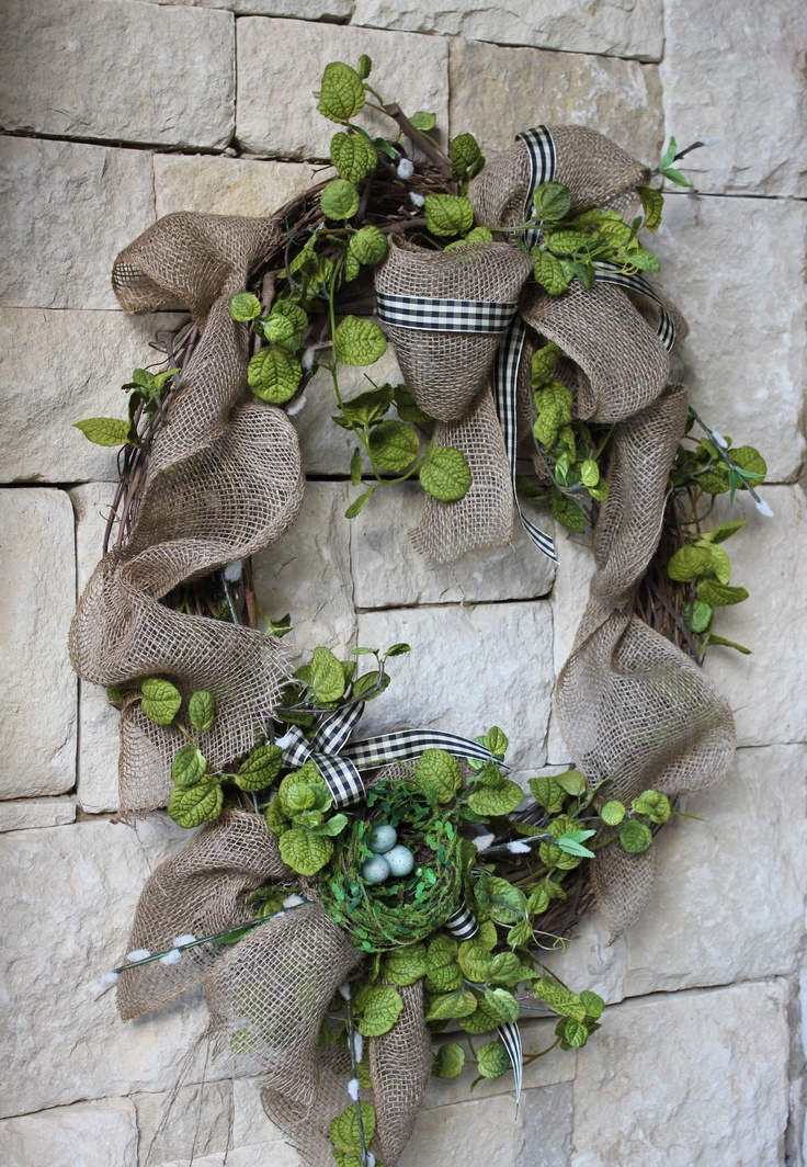 An In Between Seasons Wreath For January And February