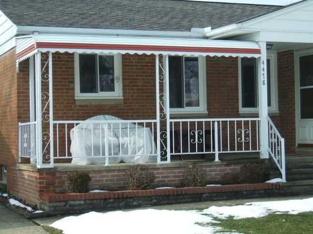 Stair And Porch Railing Installed By Cleveland Contractors