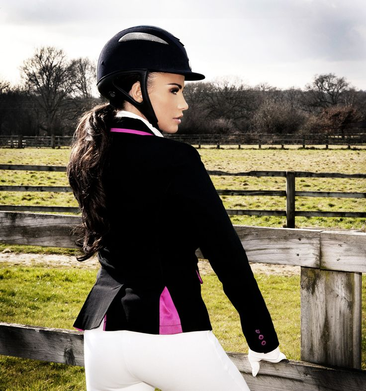 Show Jacket with Pink buttons | Rider Wear | Equestrian ...
