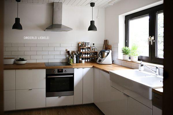 Dreierlei Liebelei: Unser neues Zuhause {Küche}