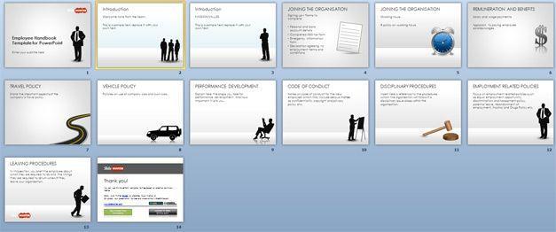 Free Employee Handbook Template Cosas Que Comprar