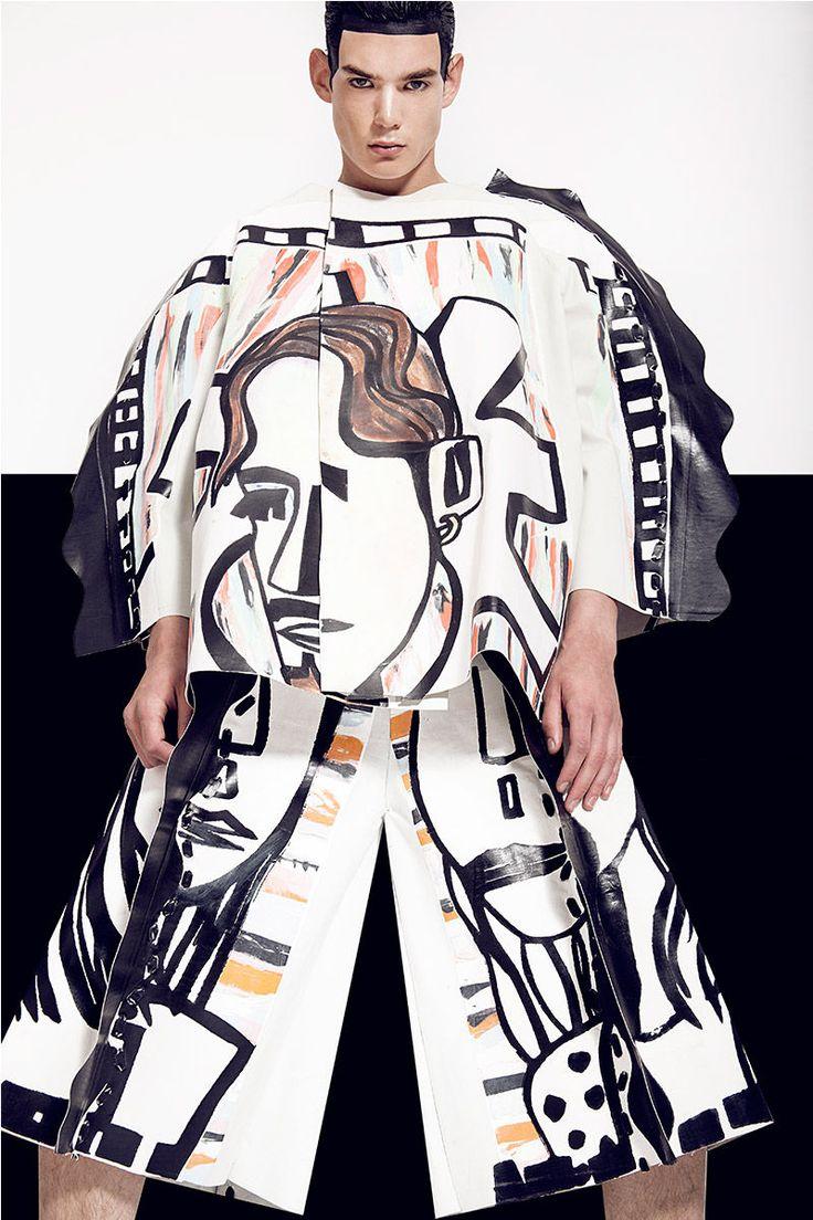 Wearable Art Editorials : artwear