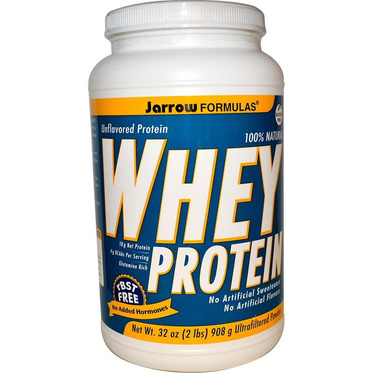 Jarrow Formulas, Whey Protein, Ultrafiltered Powder, Unflavored, 32 oz (908 g)Use referral code KOQ452 when you check out and you'll get $5 off your first orde