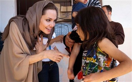 Angelina Jolie Goodwill Ambassador