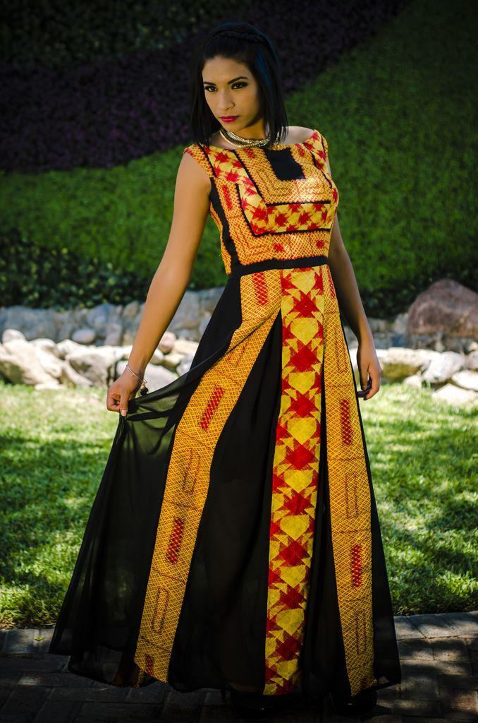 Vestido Reyna - Arellano's - Folklor a la Moda