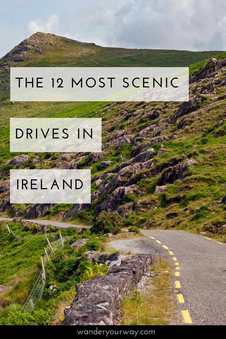 Ireland is a fabulous country for road trips. But with so many choices which scenic drives are the best? I've put together a great list of the best drives in Ireland. Click through to find out more.