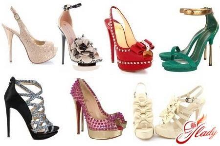 Обувь к выпускному вечеру и их фото