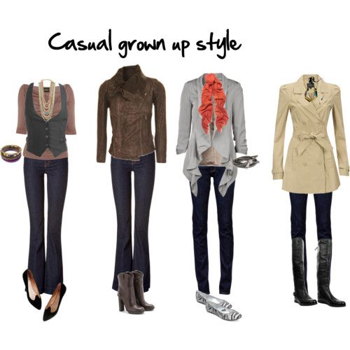 casual grown up style