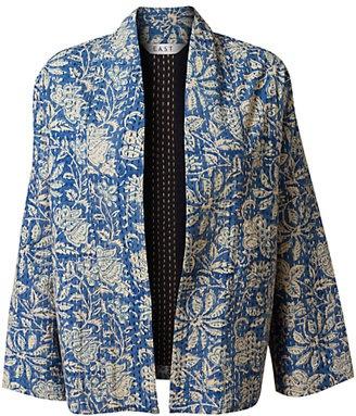 ShopStyle: East Batik Stitch Printed Jacket, Indigo