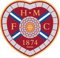 "Heart of Midlothian FC. Edinburgh. ""The Jam Tarts"". Oops, is that derogative?"
