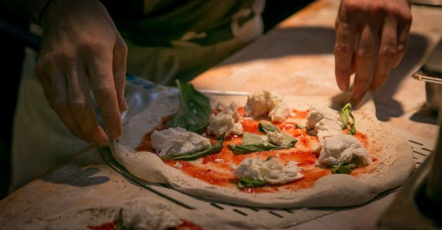 A Margherita pizza being made at Pizza Hacker in San Francisco, Calif., on Thursday, March 20th, 2014. Photo: John Storey, Special To The Chronicle