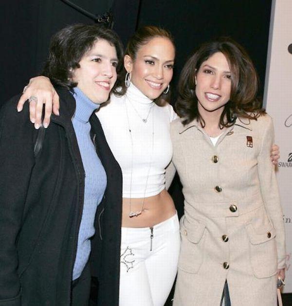 Jennifer Lopez and Lesley and Linda