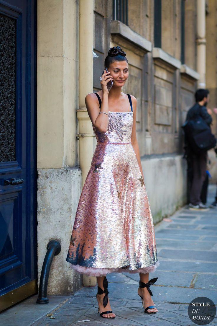 Giovanna Engelbert Battaglia Street Style Street Fashion Streetsnaps by…