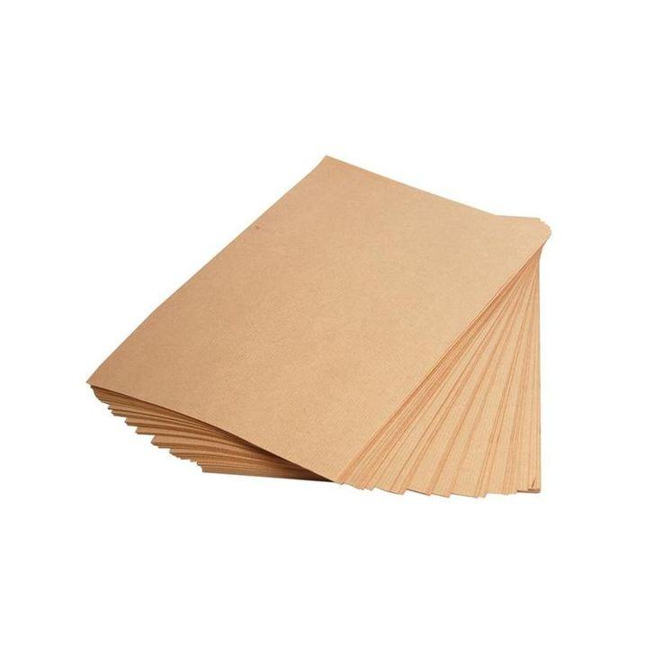 Ries 250 Blatt Kraftpapier, DIN A4, 90g