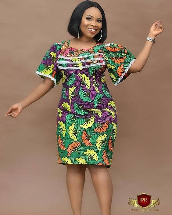 75840cbeea9 Beautiful african print ankara gown styles for thick and curvy plus size  ladies