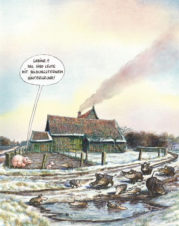 Kultur-MARUNDE   Cartoons & Illustrationen von Wolf-Rüdiger Marunde