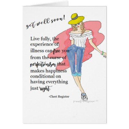 Encouraging Illustration Quotes #9: Get Well Soon Card - drawing sketch design graphic draw personalize