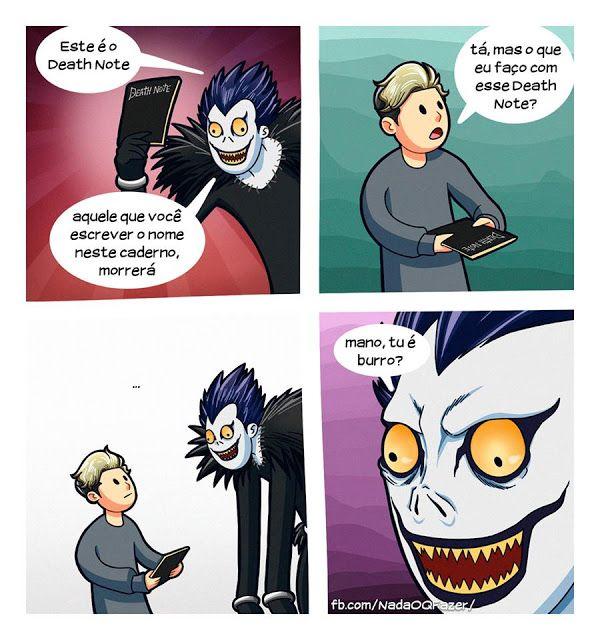 RPG, manga , quadrinhos , cultura em geral: O que fazer com o Death Note?