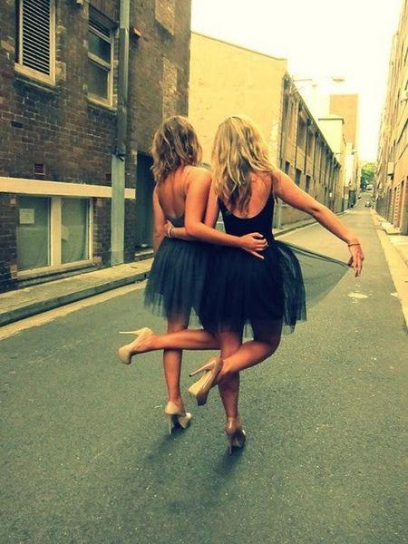 tutus and heels- fun bachelorette party idea