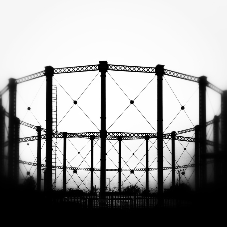 MG Gasometer Northampton - its just down the road but is being demolished soon