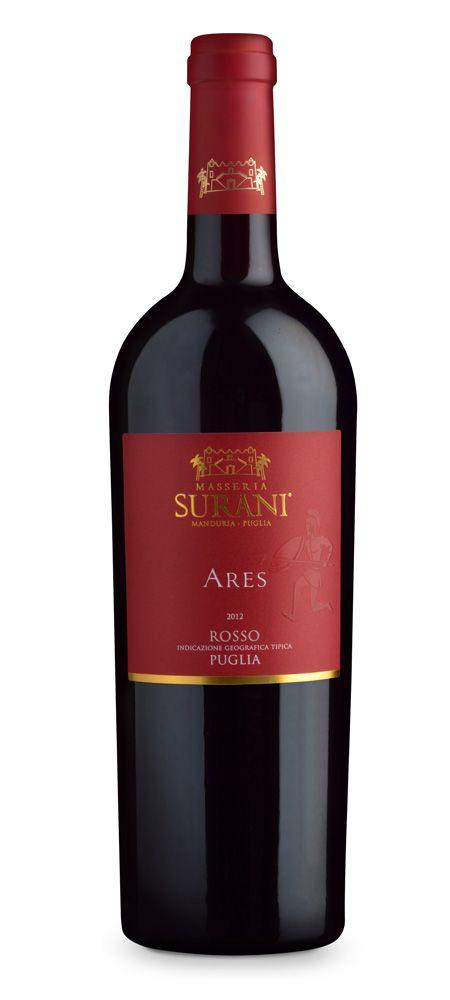 Masseria Surani Ares Rosso Puglia IGT #wine #Tommasiwine #MasseriaSurani www.tommasi.com