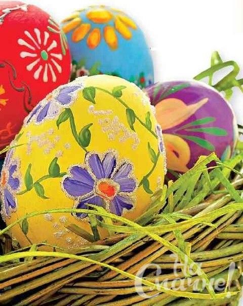Украшение пасхальных яиц  (3)