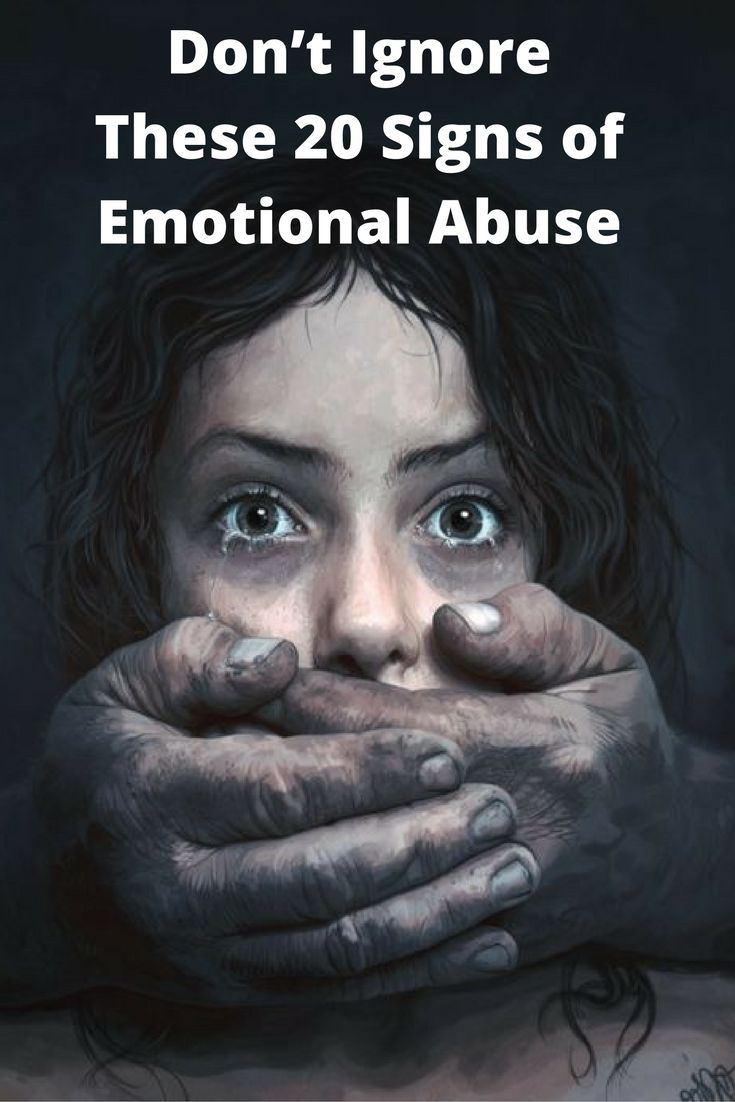 Don't Ignore These 20 Signs of Emotional Abuse