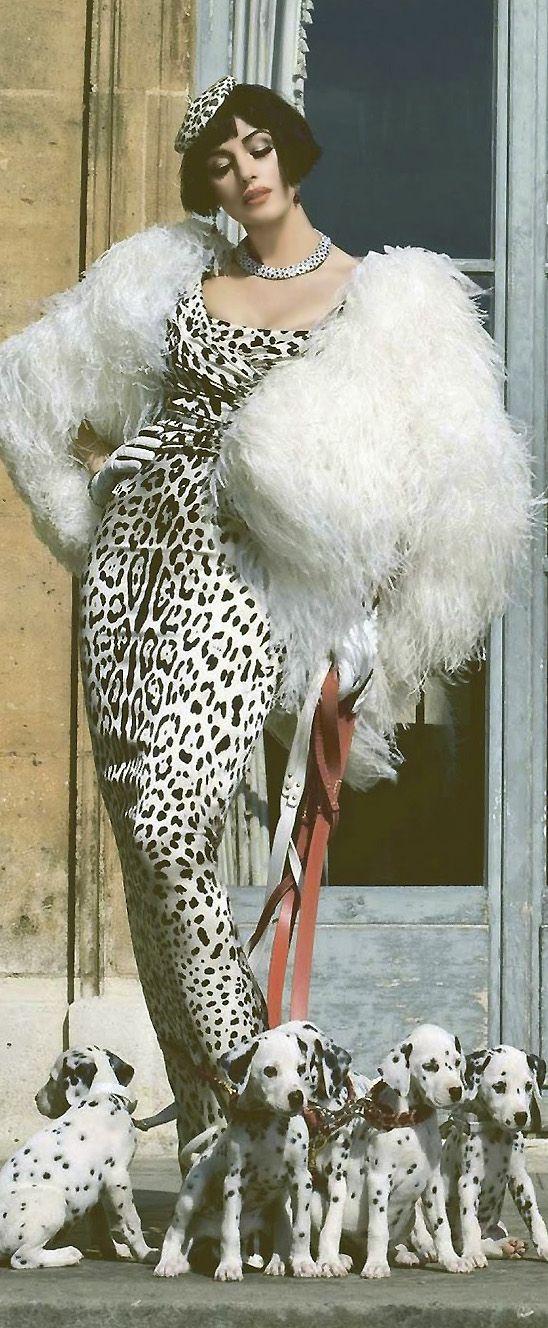 Tatler - Monica Bellucci by Francesco  Escalar                                                                                                                                                     More