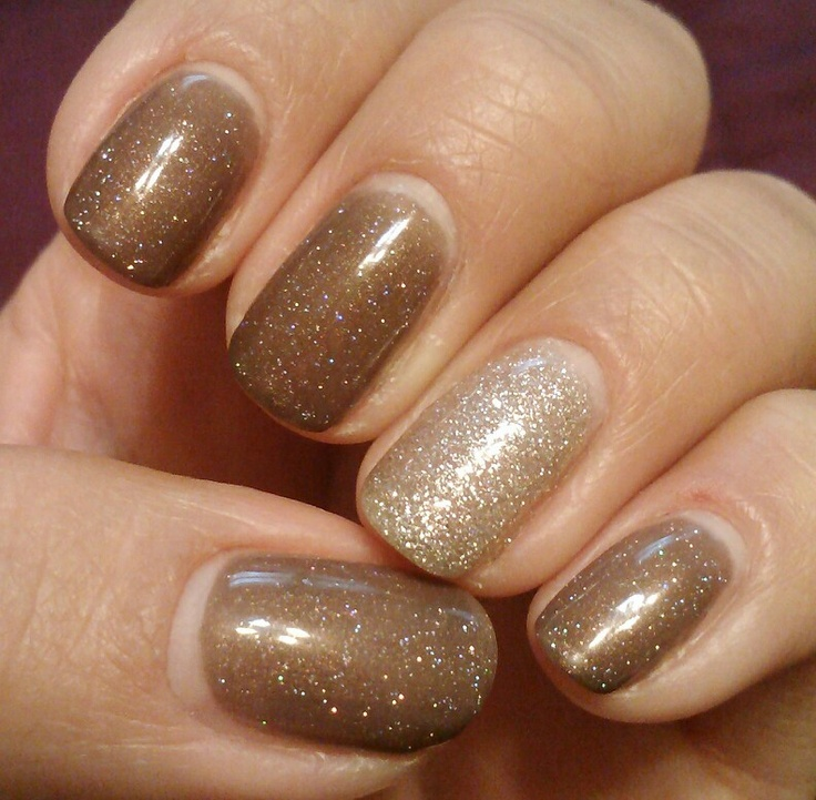Ibd just gel jungle finger, trugel crushed diamonds with progel trophy cup accent
