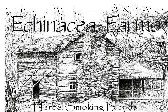 SACRED HERBAL SMOKING BLEND #1 ALL NATURAL VAPING TEA INCENSE DAMIANA #ECHINACEAFARMS
