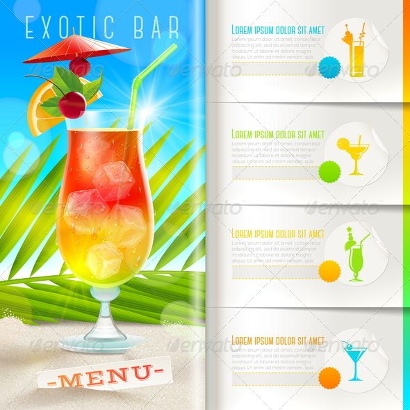 The 25+ best Free booklet template ideas on Pinterest Free - cocktail menu template free download