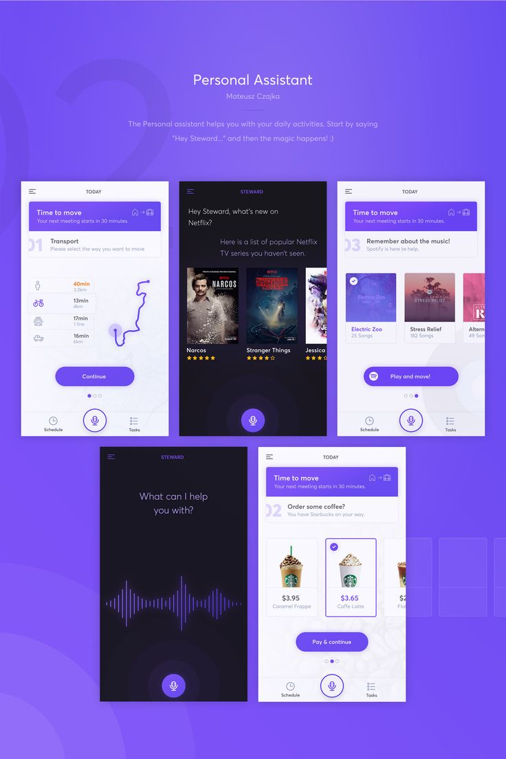 Four shiny mobile apps ready to use in your next project. Crafted with love during our last design hackathon. Enjoy!At Netguru we regularly run internal design hackathons. This time, there was no imposed theme, so we could let our imagination run wild. …