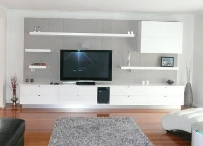 Shelves Around Tv Tv Furniture Pinterest Bespoke
