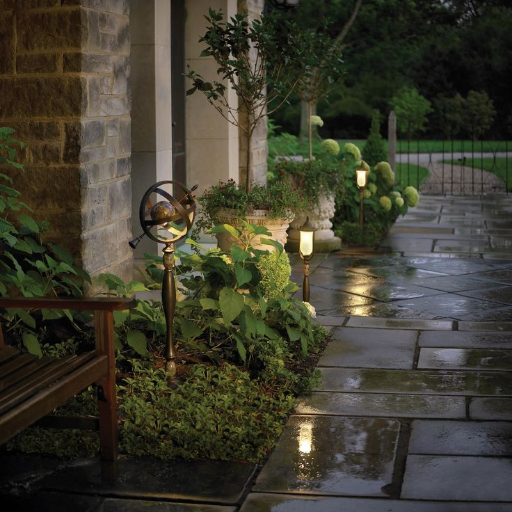 Best 92 Outdoor Lighting Ideas Ideas On Pinterest