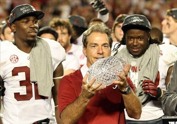 Alabama Installed As Early Betting Favorite For BCS Championship