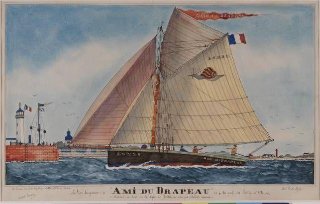 Sables-d'Olonne Paul-Émile Pajot : «La Volonté de Dieu» (avant 1914)